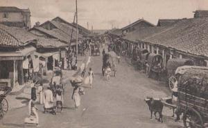 Market Women Traders Basket On Heads South African Street Scene Antique Postcard