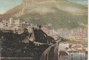 Monaco Le Palais du Prince et la tete de Chien