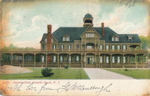Ontario Hotel at Ontario Beach - Rochester, New York - pm 1909 - UDB