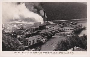 RP, Pulp & Paper Mills, OCEAN FALLS , British Columbia, Canada, 20s-40s # 2
