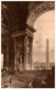 Illinois , Art Institute of Chicago , The Obelisk, by Hubert Robert