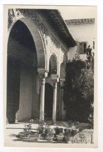 RP, Detalle Del Patio, Granada (Andalucia), Spain, 1920-1940s