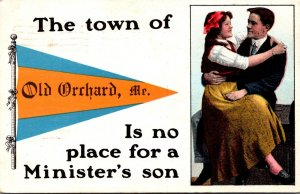 Maine Old Orchard Is No Place For A Minister's Son 1914 Pennant Series