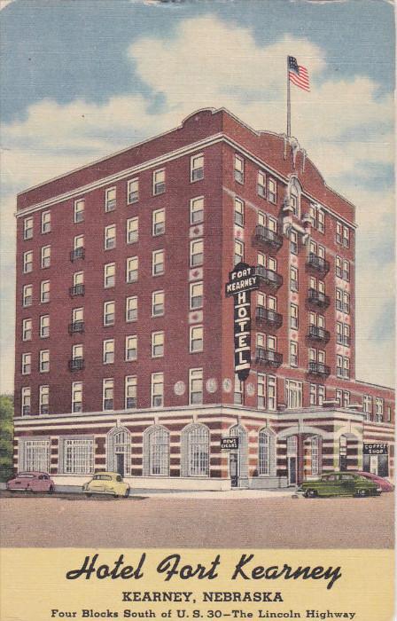 Hotel Fort Kearney , KEARNEY , Nebraska , 30-40s