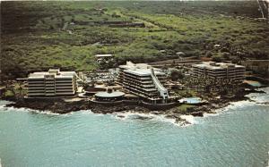 Kailua-Kona Hawaii~Kona Hilton on Orchid Isle (Along Kona Coast)~Info on Bk~1971