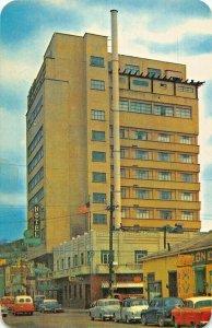 NOGALES SONORA MEXICO~HOTEL FRAY MARCOS de NIZA-1960s POSTCARD