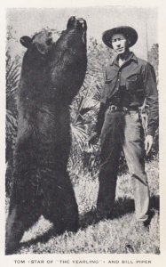 Tom (Bear) & Bill Piper , 1950s ; TV Show The Yearling