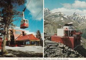 Canada Jasper National Park Sky Tram Whistlers Mountain