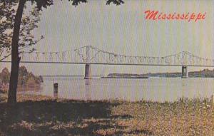 Mississippi Greenville Mississippi River & Bridge