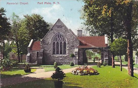 Memorial Chapel, Fort Plain, New York, PU-1909