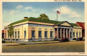 Ohio Warren Post Office 1944 Curteich