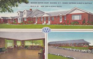 3-Views, Madison Motor Court, MADISON, New York, PU-1957