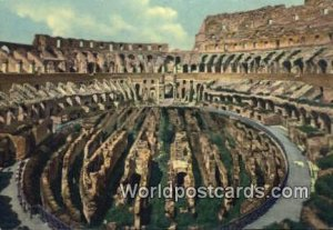Coloseum and the New Excavations Roma, Italy Unused