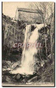 Old Postcard Cascade Chevade near Murat