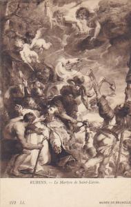 Rubens Le Martyre de Saint-Lievin Musee de Bruxelles