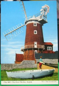 England Cley Mill Cley-next-the-sea Norfolk - posted 1969