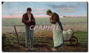 Old Postcard Fancy Farmers