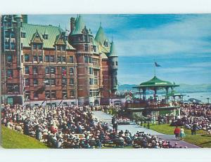 Pre-1980 TOWN VIEW SCENE Quebec City QC p9872