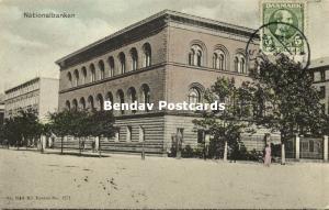 denmark, COPENHAGEN KOBENHAVN, Nationalbanken (1909) Stamp