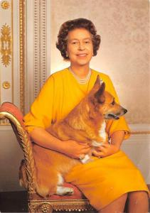 Queen with her Corgi -