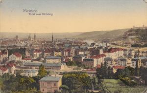 Total Vom Steinberg, WURZBURG, Bavaria, Germany, PU-1909