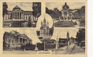 Five Different Views, Wiesbaden (Hesse), Germany, PU-1952