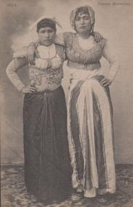 Alger Mauresques Morocco Ladies Fashion Costume Antique Moroccan Postcard