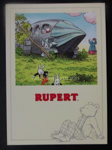 Rupert Bear RUPERT AND PONG PING c1992 by Reflex Marketing PC776