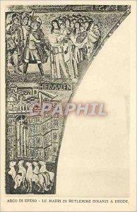 Old Postcard Arco di Efeso Mardi di Betlemme Innanzi has Eroda