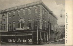 Brockton MA YMCA c1905 Postcard