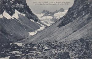 France Dauphine De la Berarde a la Grave Le Col du Clot-des-Cavales