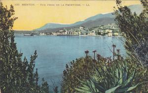 Vue Prise De La Frontiere, MENTON (Alpes Maritimes), France, 1900-1910s