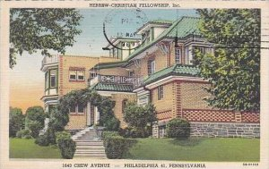 Pennsylvania Philadelphia Hebrew Christian Fellowship