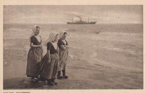 ZEELAND (Holland) , 1910s; Walcheren # 4, Ship in background