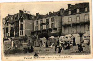 CPA Paramé-Rochebonne-Hótel Bristol-Hótel de la Plage (265744)