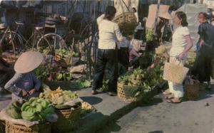 INDOCHINA CPA Vietnamese market - Saigon (119186)
