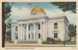 RENO, Nevada, 1930-40s; Washoe County Court House