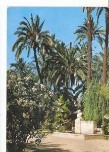 Postal 032852 : Elche. Parque Municipal. Monumento a D. Jose Ma; Sierra