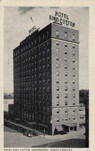 GREENSBORO , North Carolina , 1938 ; Hotel King Cotton