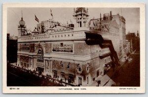 New York City~Hippodrome~Andersonville~Yankee Circus on Mars~c1910 RPPC
