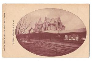York PA W.M.R.R. Western Maryland Railroad Train Station PC