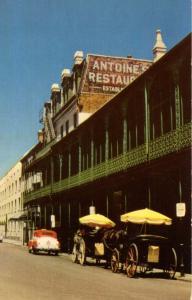 LA - New Orleans. Antoine's Restaurant on St Louis Street
