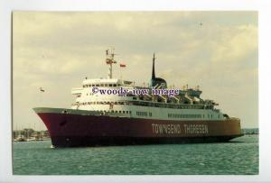 SIM0053 - Townsend-Thoresen Ferry - Dragon , built 1967 - postcard