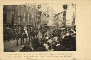 Gala Carriage, Grand Duke Vladimir of Russia, Grand Duke of Mecklenburg-Schwerin