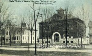 Old High & Hawthorne School in Charlotte, Michigan