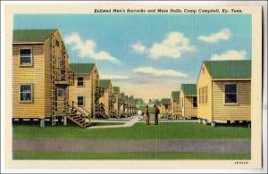 Enlisted Men's Barracks & Mess Hall, Camp Campbell KY