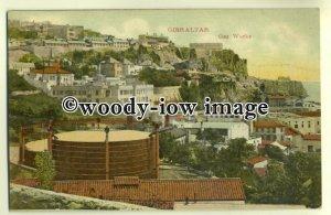 ft1293 - Gas Works , Gibraltar - postcard