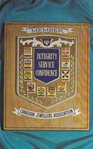 Display with pride your Canadian Jewellers Association Membership Plaque, Can...