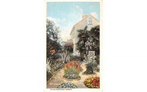 An Old Nantucket Garden in Nantucket, Massachusetts