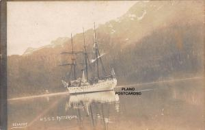 U.S.S.S. PATTERSON, EARLY 1900'S KENNEDY PHOTO RPPC REAL PHOTO POSTCARD